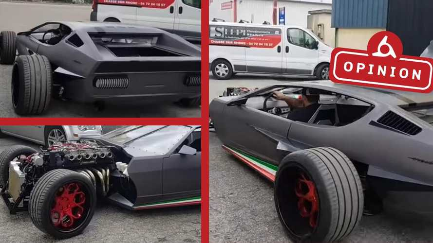 This Mad Max Lamborghini sent us down fury road
