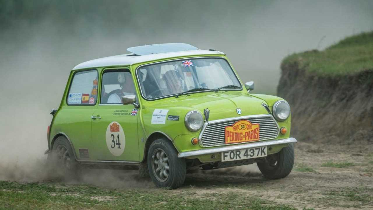 Heroic 1972 Mini endurance rally racer could be yours
