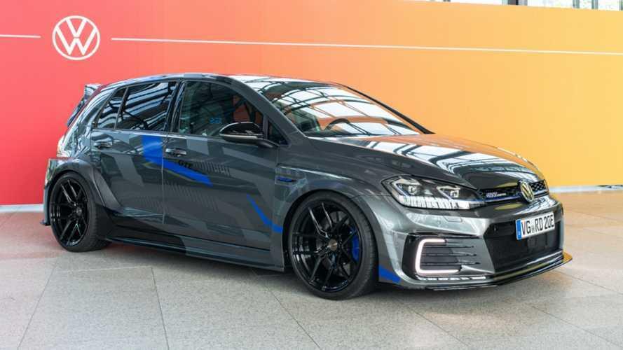 Jóval sportosabbá tették a Volkswagen gyakornokai a Golf GTE-t