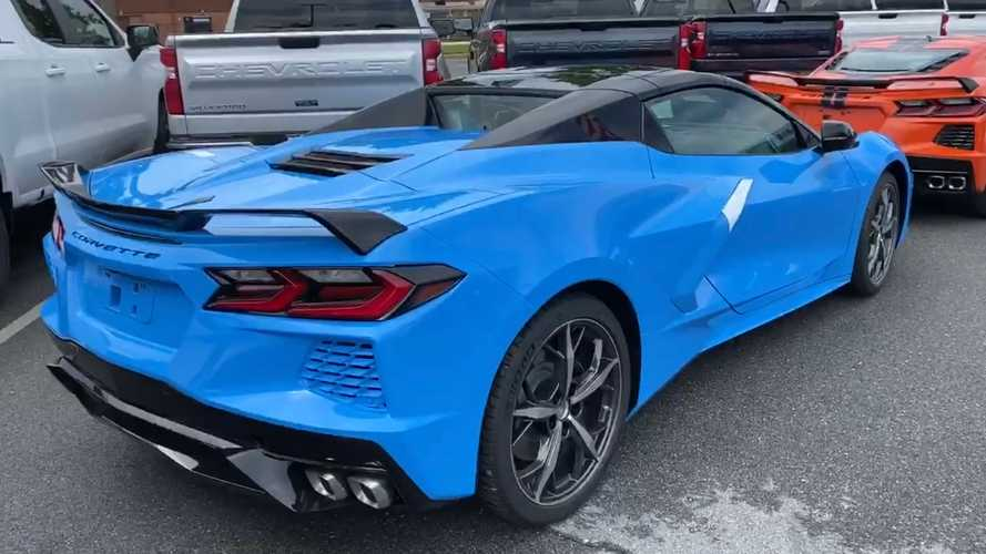 2020 Corvette Convertible Arrives At Dealership After Long COVID Delay