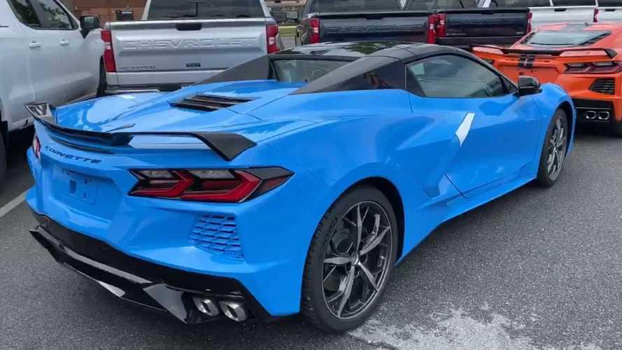 2020 Corvette Convertible Arrives At Dealership After Long COVID Delay