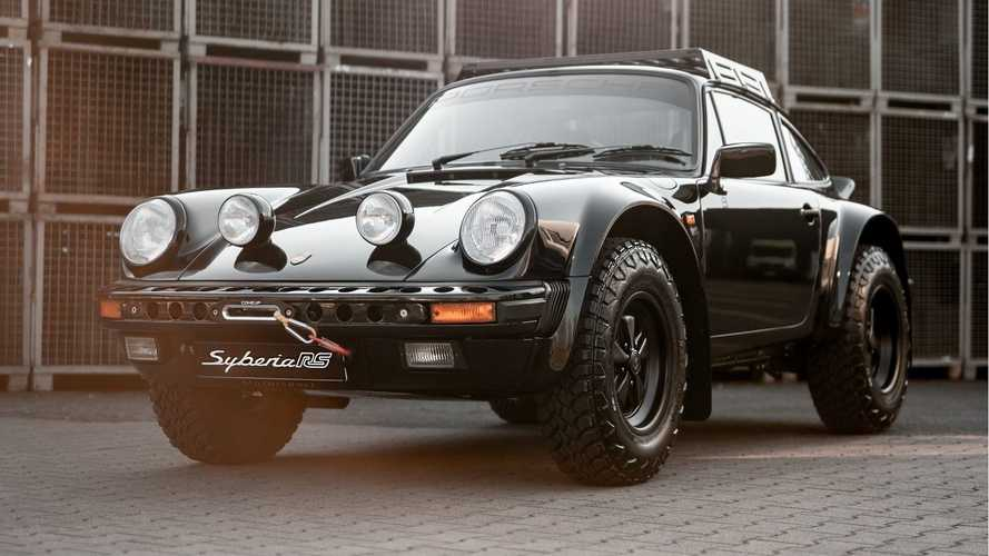 Syberia RS, un brutal Porsche 911 todoterreno de 1986, al estilo Safari