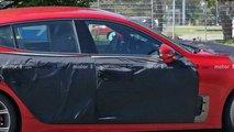 Шпионские фото обновленного Kia Stinger GT