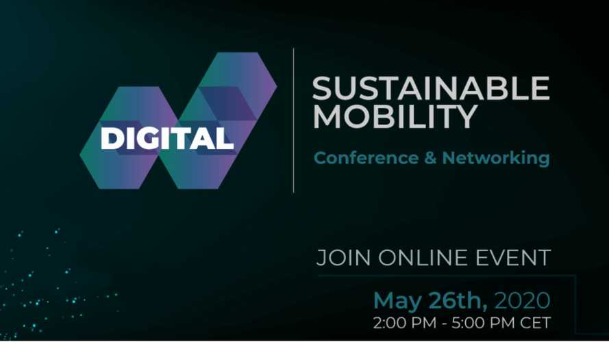 """Sustainable Mobility Digital Event"" zur Elektrifizierung am  26. Mai 2020"