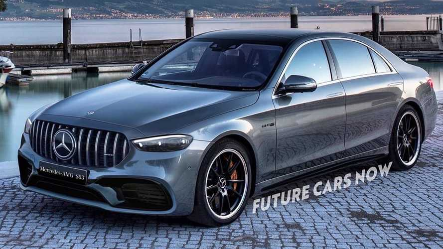 New Mercedes-AMG S63 rendered to life
