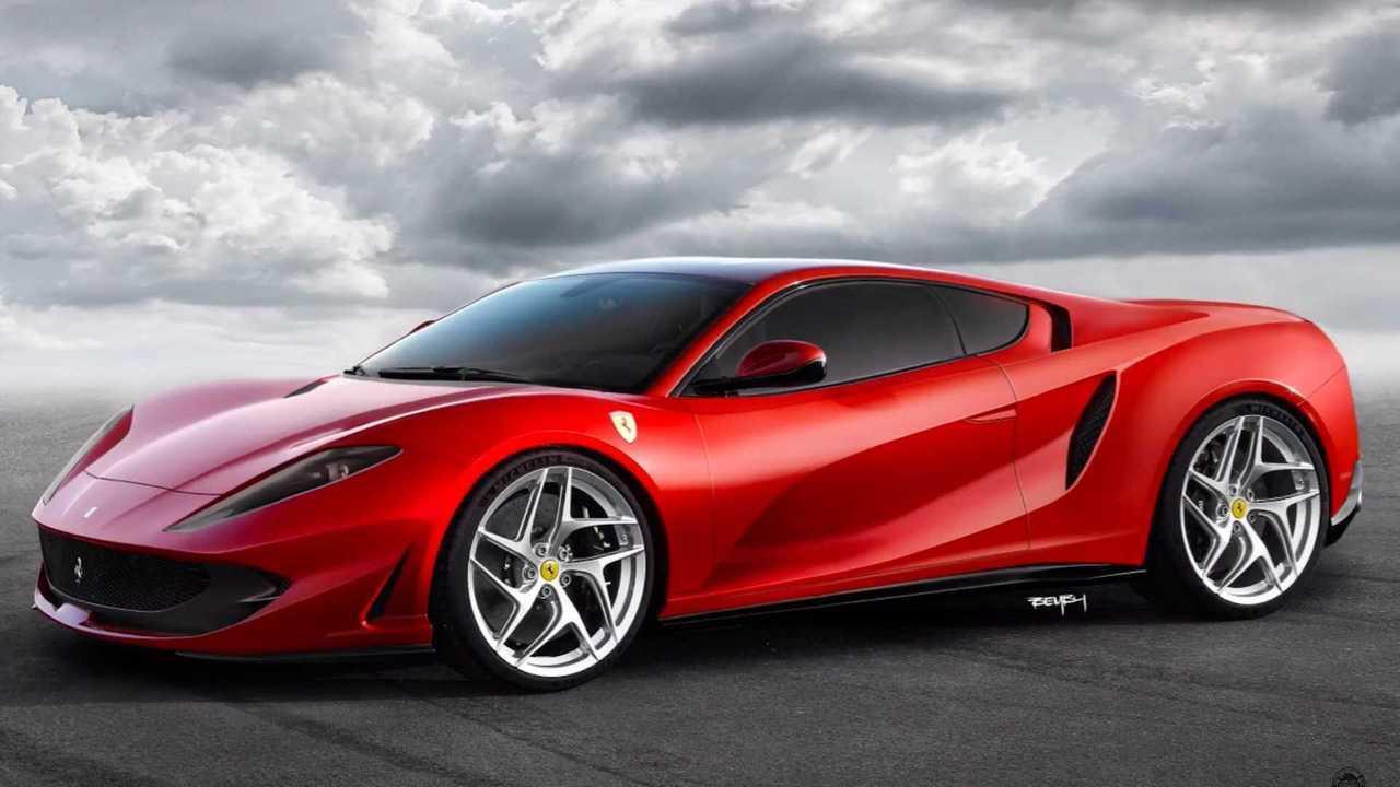 Mid-engine Ferrari 812 Superfast