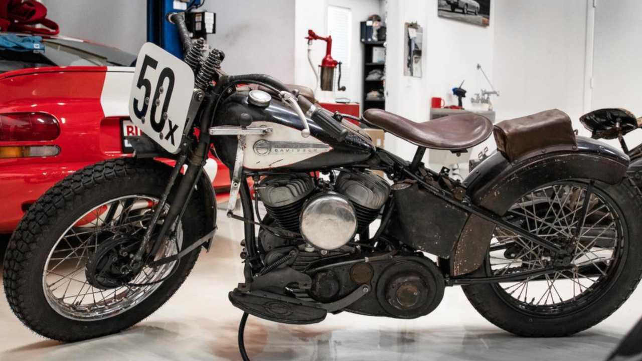 1950 Harley-Davidson WR Daytona Racer