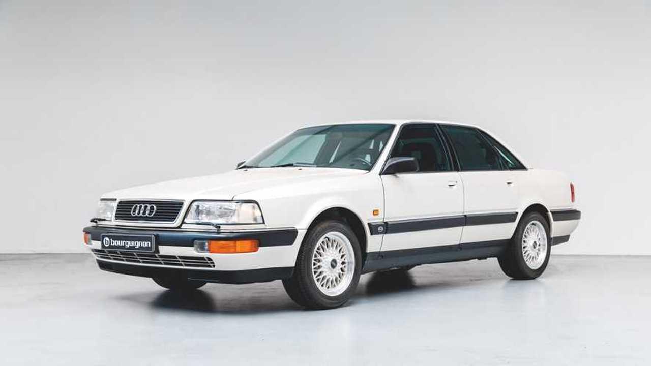 Audi V8 de 1990, nuevo, a la venta