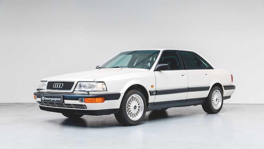 Este Audi V8 de 1990, totalmente nuevo, se vende por ¡74.950 euros!