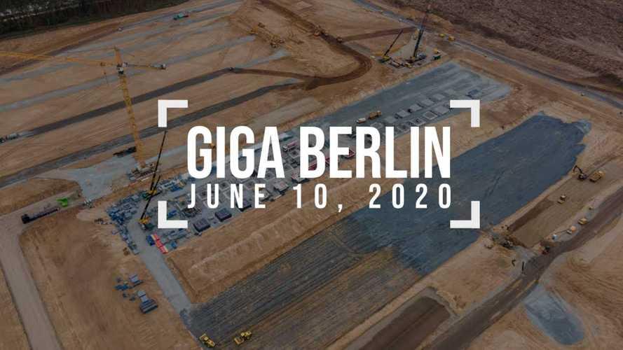 Tesla Gigafactory 4 Construction Progress: June 10, 2020