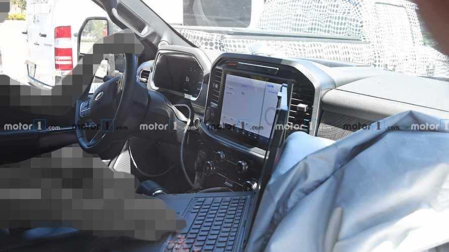 2021 Ford F-150 Platinum Spy Shots
