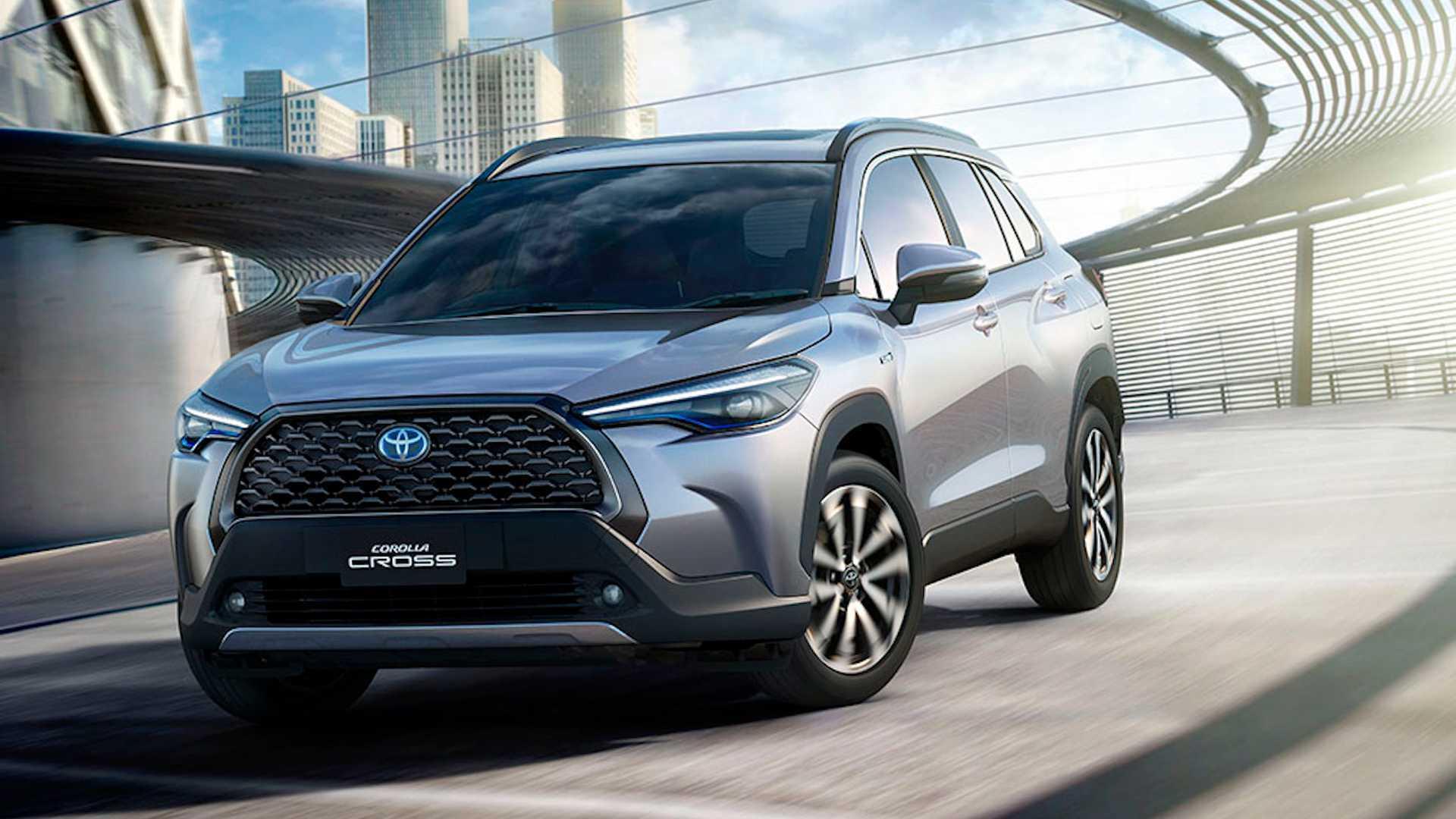 Toyota Corolla Cross 2021, solo para el mercado Tailandés