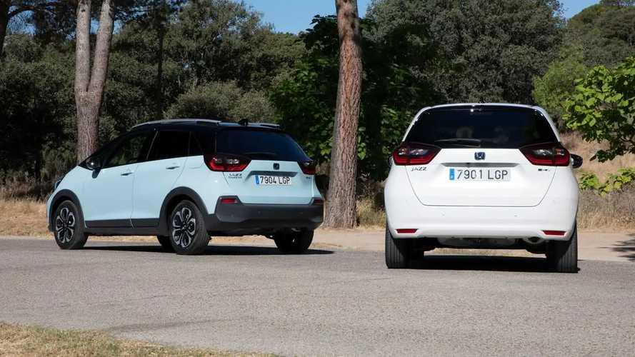 Honda Jazz y Jazz Crosstar 2020, prueba
