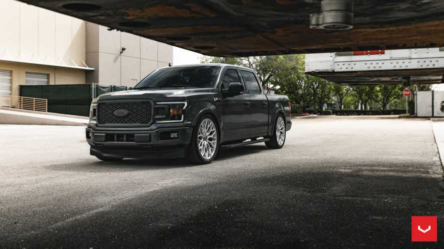 Lowered Ford F-150 On 24-Inch Vossen Wheels Looks Rad