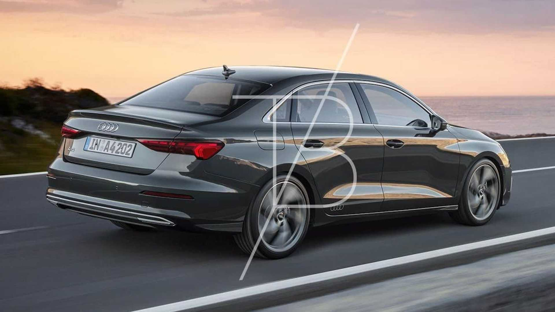 2022 audi a4 renderings preview an evolutionary design update