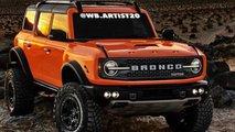 Ford Bronco Raptor, renders