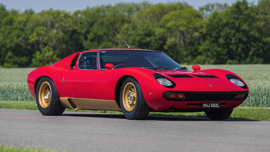 Rare RHD Lamborghini Miura SV up for sale