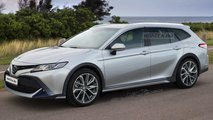 Toyota Camry Wagon Renderings