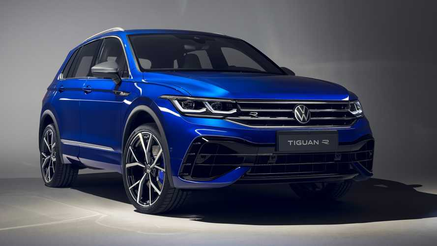 2021 VW Tiguan videos show extended lineup with eHybrid and R Models