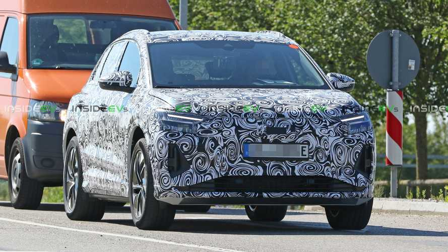 Audi Q4 e-tron spy photos