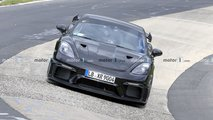 Porsche Cayman GT4 RS Spy Photos