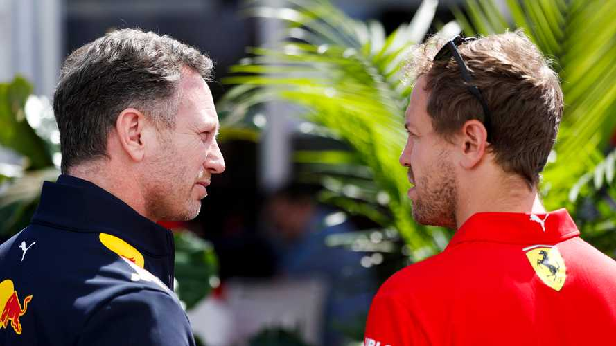 """Horner: F1 not seeing the """"real"""" Vettel in 2020"""