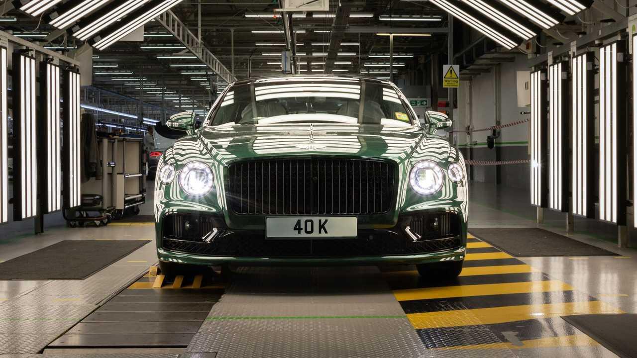 40,000th Bentley Flying Spur
