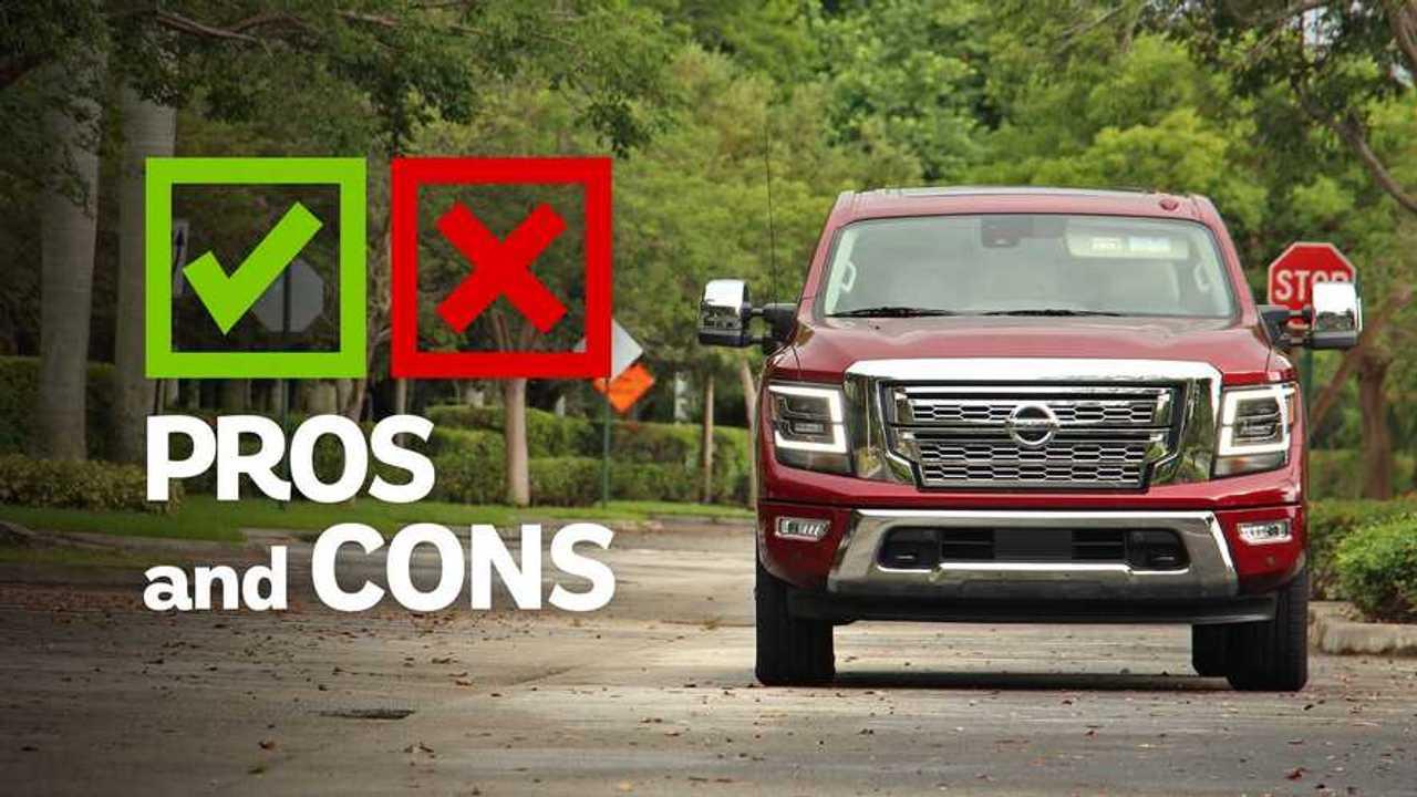 2020 Nissan Titan SL: Pros And Cons