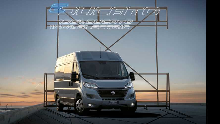 Fiat Introduces All-Electric E-Ducato Van