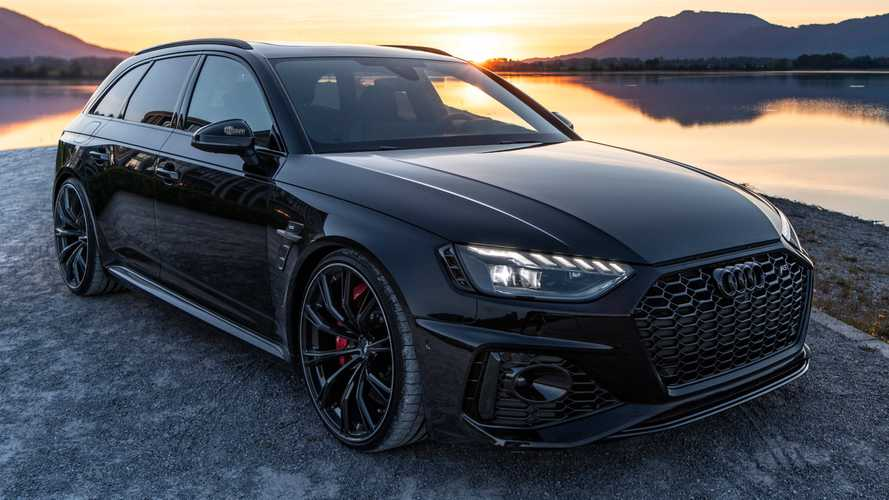 Audi RS 4 Avant, look total black per quella elaborata da ABT