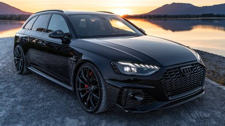 2020 Audi RS4 Avant tuned by ABT is pure evil with all-black look
