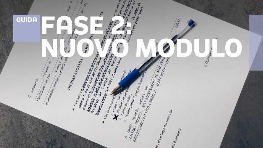 Autocertificazione Fase 2: nuove regole e modulo per gli spostamenti