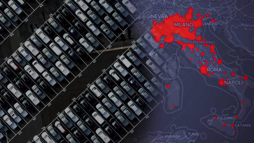 Coronavirus, il noleggio auto trema ma non cade, soffre il car sharing