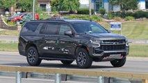 Chevrolet Suburban Z71 Spy Shots