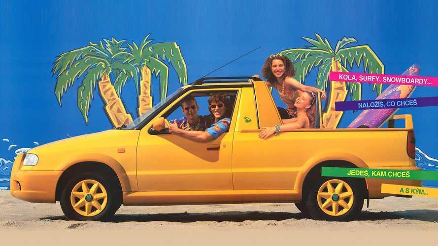 Skoda Felicia Fun: así era el curioso pick-up checo, enfocado al ocio