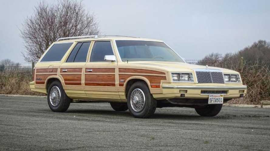 This 1985 Chrysler LeBaron was Frank Sinatra's final car