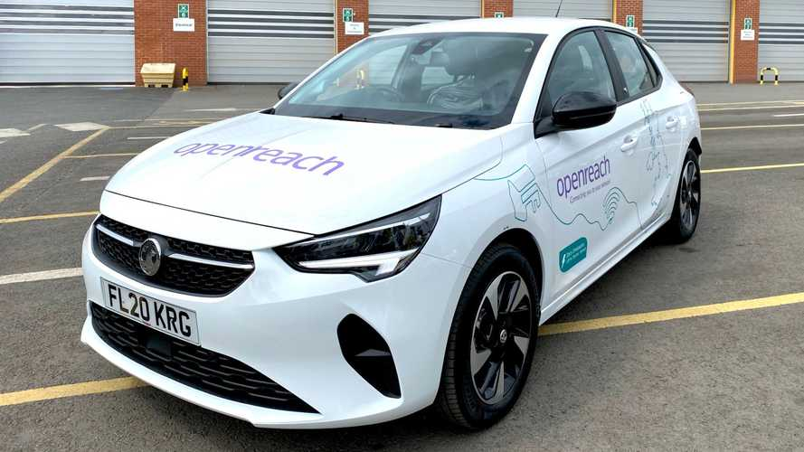 Openreach Electric Vauxhalls