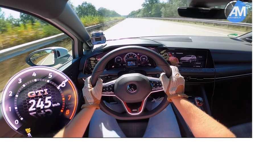 Vídeo: ¡el Volkswagen Golf GTI alcanza su velocidad máxima!