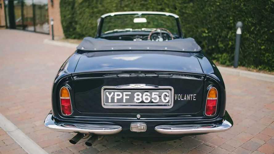 Rare mint Aston Martin DB6 Volante up for sale