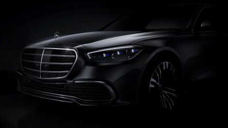 2021 Mercedes S-Class front design revealed in official teaser