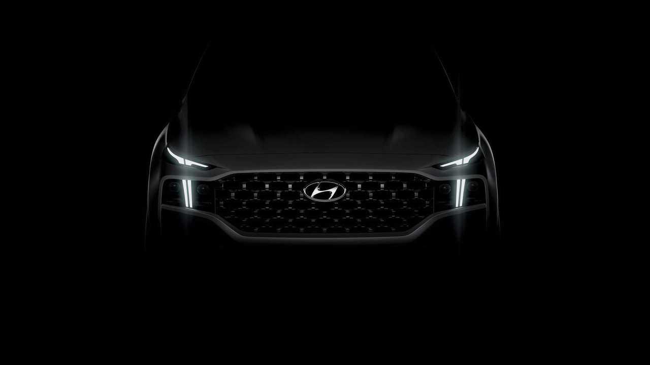 New Hyundai Santa Fe Teaser