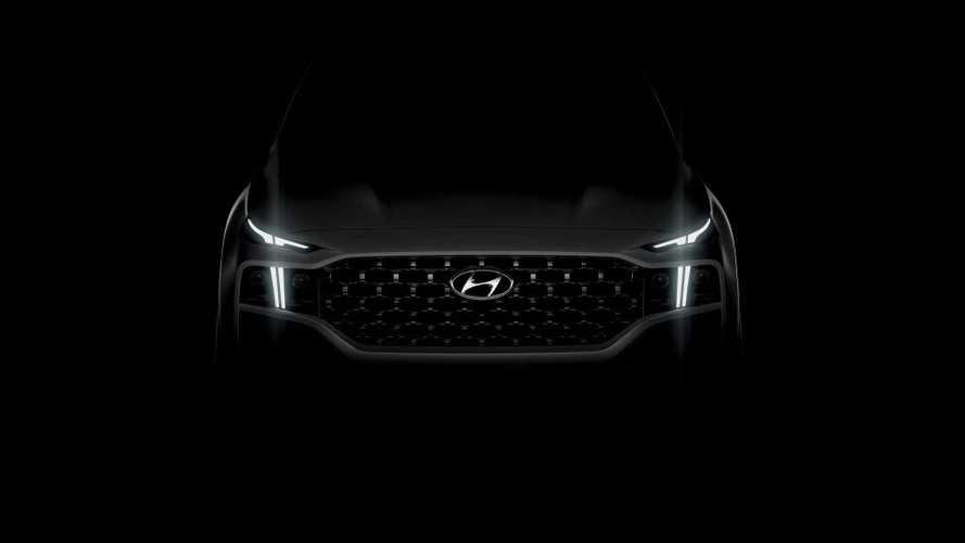Hyundai Teases New Santa Fe SUV: PHEV Option Coming