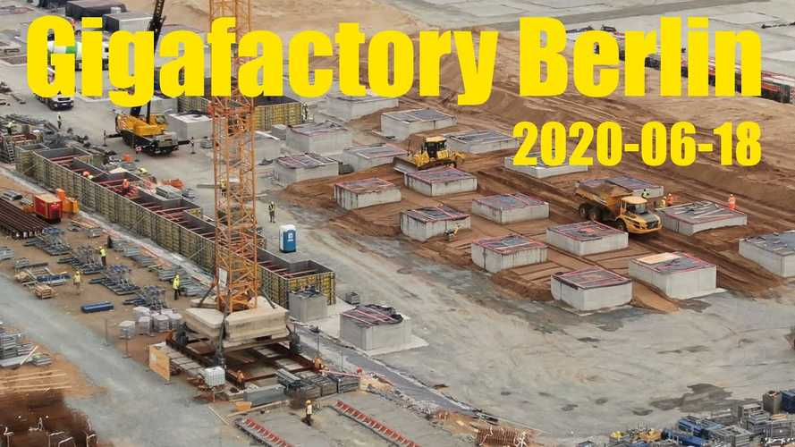Tesla Giga Berlin Construction Progress: June 18, 2020