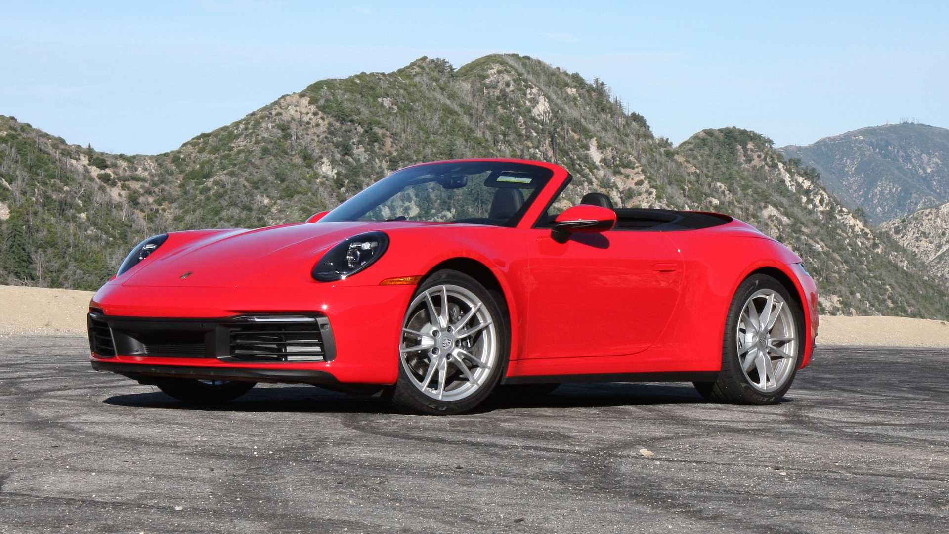 2020 Porsche 911 Carrera Cabriolet Base Model Beauty