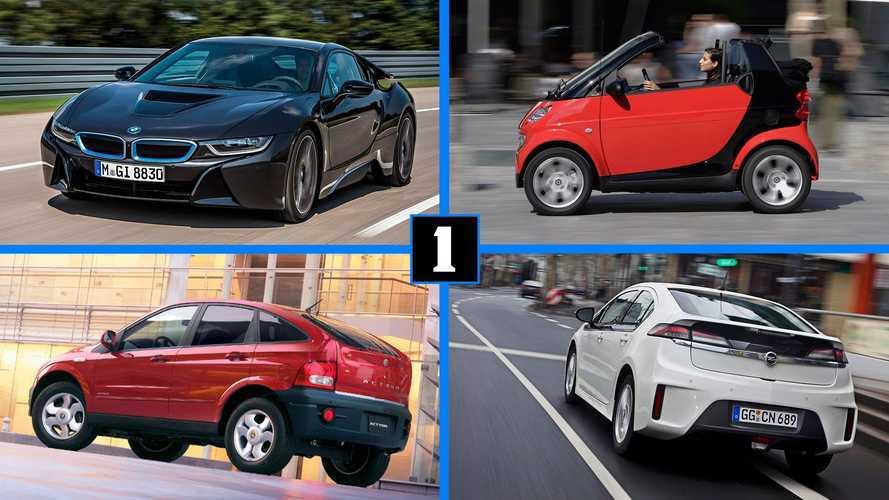 10 современных автомобилей, здорово опередивших время