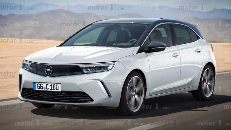 Render Opel Astra 2021