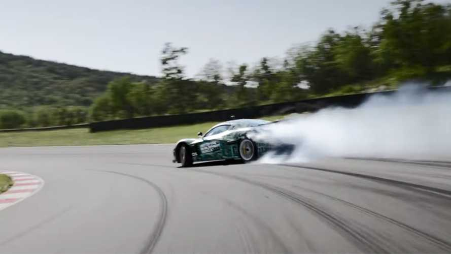La Rimac C_Two sarà un'incredibile auto elettrica da drift