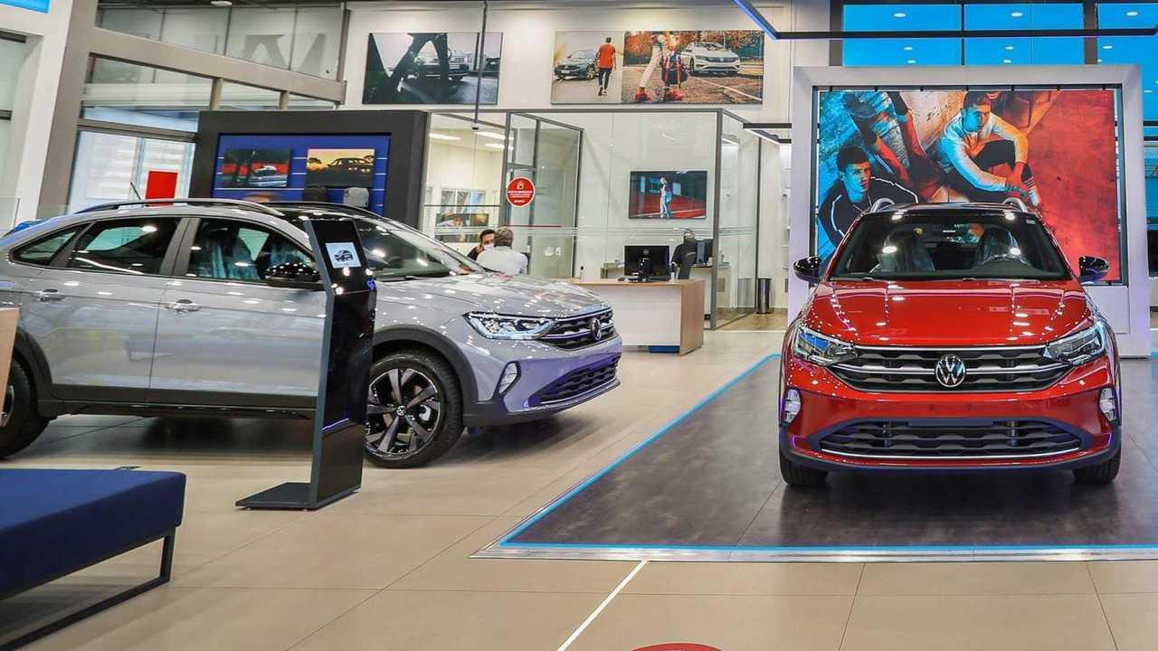 VW Nivus nas concessionárias