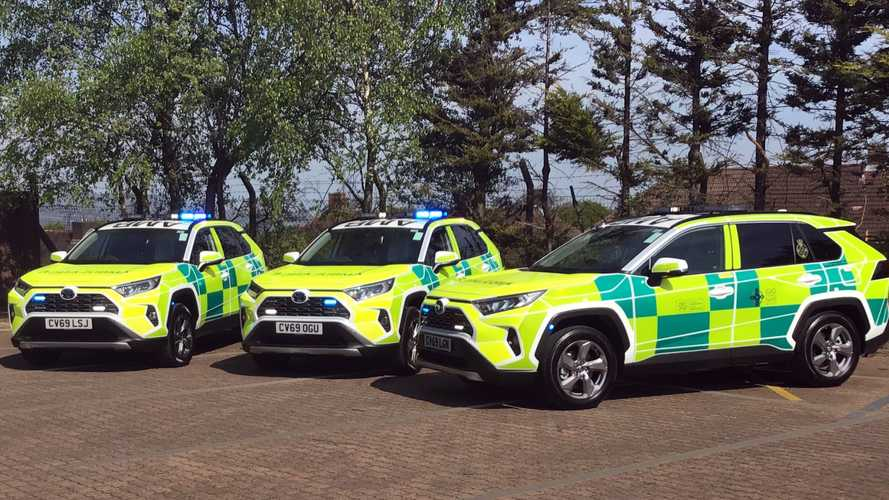 Toyota RAV4 becomes rapid response vehicle for Welsh ambulance service