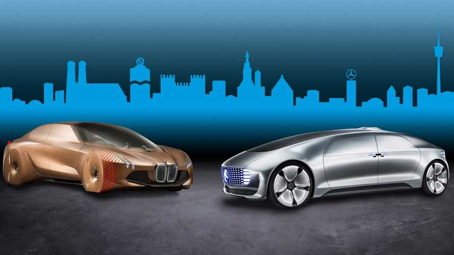 Mercedes-Benz и BMW отказались от общего автопилота